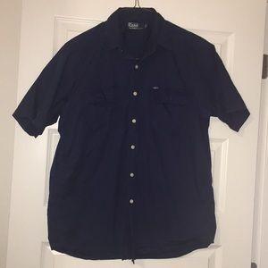 Polo button down short sleeve